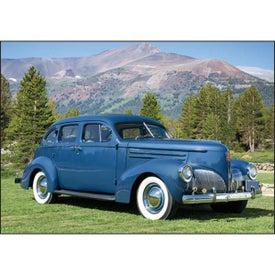 Antique Cars Large Executive Calendar Giveaways