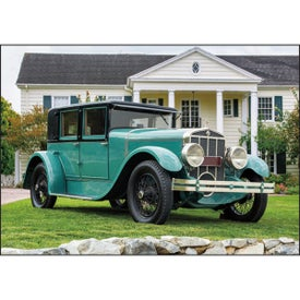 Company Antique Cars Large Executive Calendar