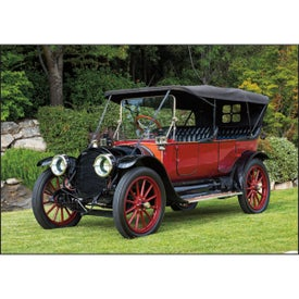 Antique Cars Large Executive Calendar for Your Organization