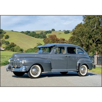 Promotional Antique Cars Large Executive Calendars With