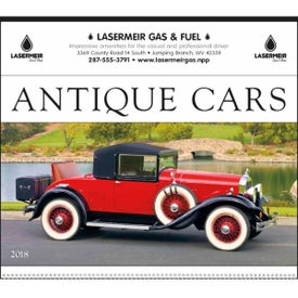 Antique Cars Large Executive Calendar (2017)