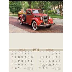 Logo Antique Trucks Executive Calendar