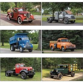 Company Antique Trucks Executive Calendar