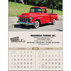 Antique Trucks Executive Calendar (2020)
