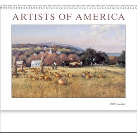 Artists of America Appointment Calendar for Customization