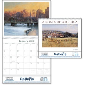 Artists of America Appointment Calendar for Your Organization