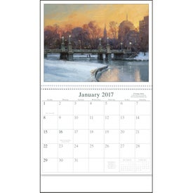 Artists of America Appointment Calendar for Your Company