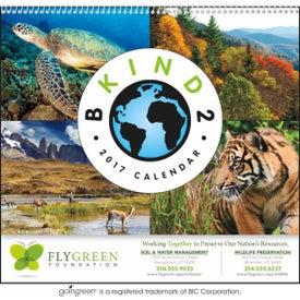 Printed B Kind 2 Earth Calendars