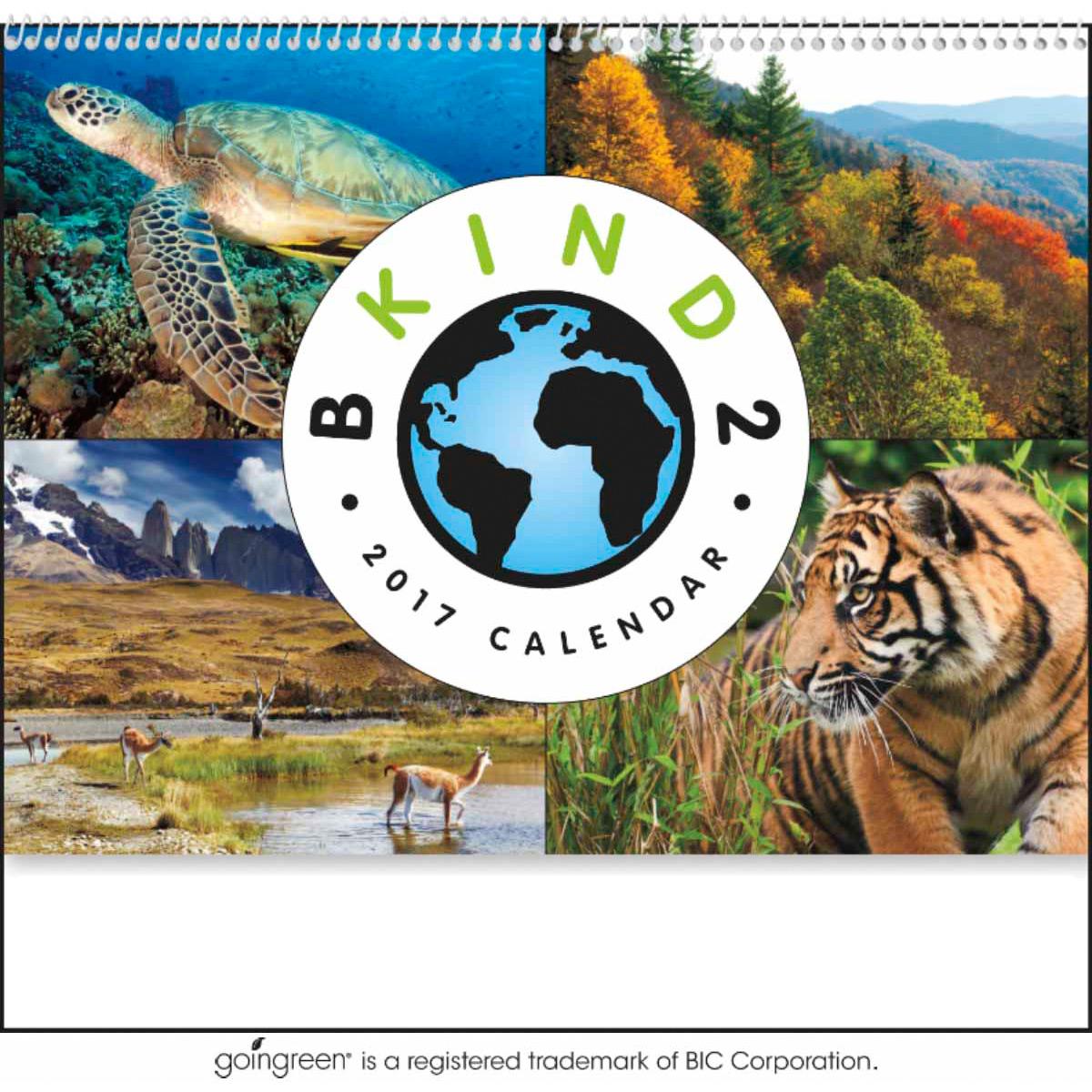 B Kind 2 Earth Calendars (2017)
