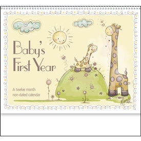 Baby's First Year Appointment Calendar with Your Logo