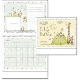 Personalized Baby's First Year Appointment Calendar