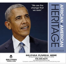 African-American Heritage Barack Obama Calendar (2020)