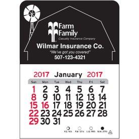 Personalized Barn Vinyl Adhesive Calendar