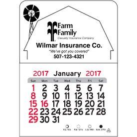 Barn Vinyl Adhesive Calendar for Your Company