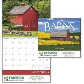 Imprinted Barns Appointment Calendar