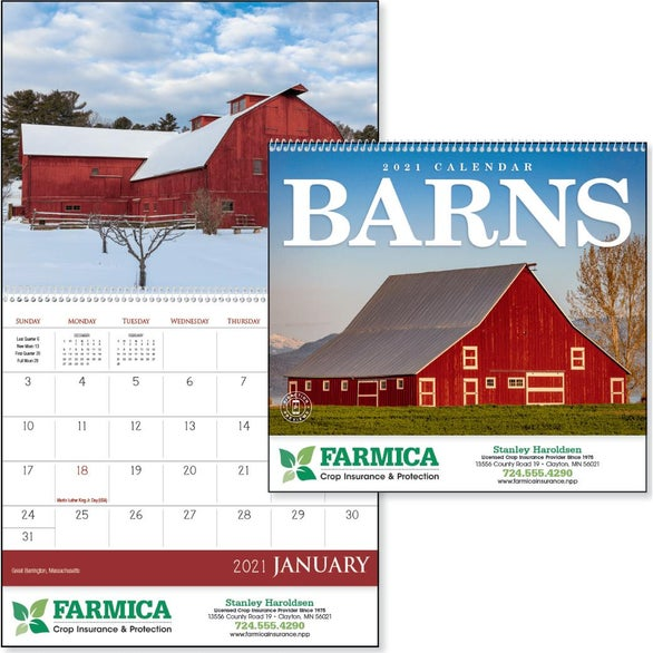 See Item Barns Appointment Calendar