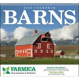 Barns Appointment Calendar for Advertising