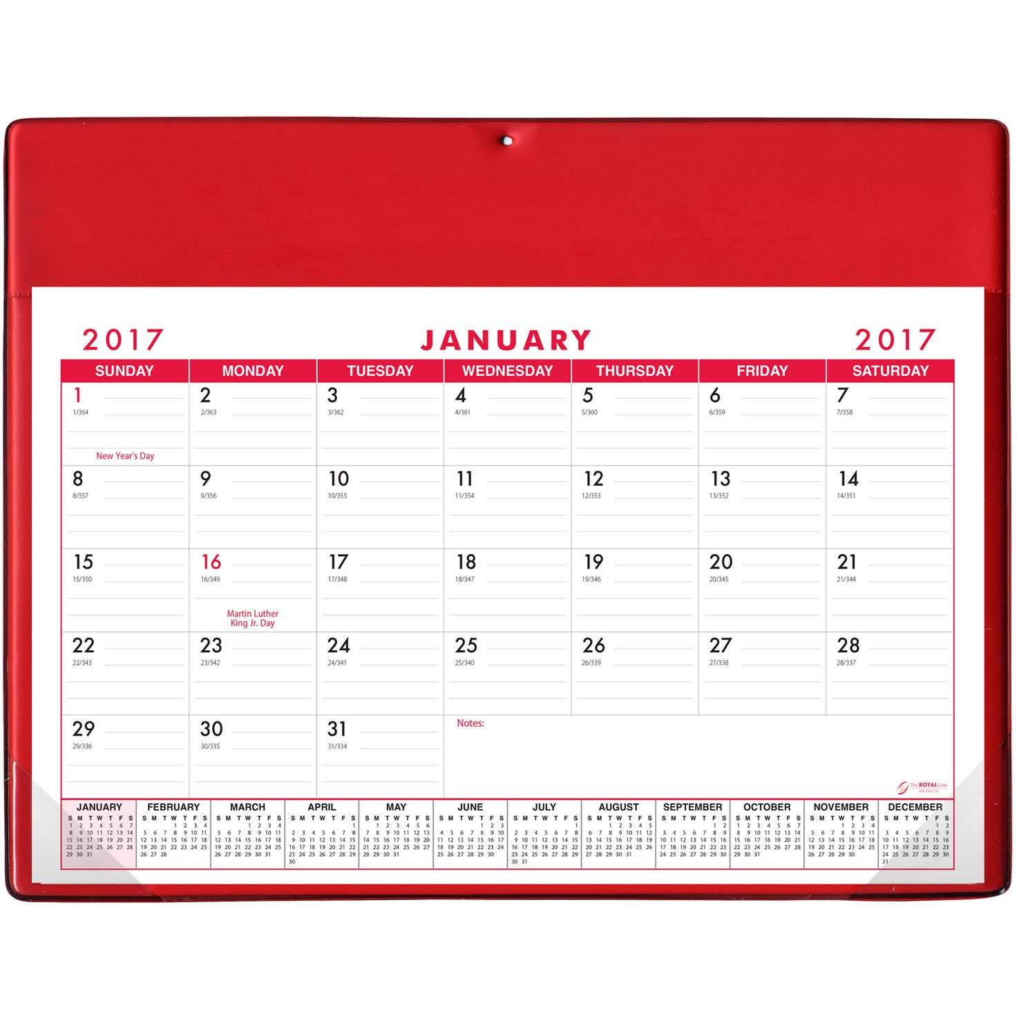 promotional stock colors basic desk pad calendar doodle pads with