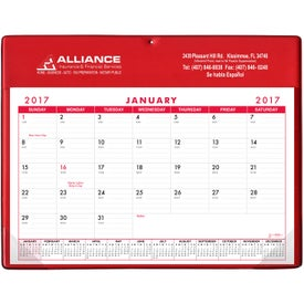 Basic Desk Pad Calendar - Doodle Pad for Advertising