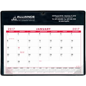 Basic Desk Pad Calendar - Doodle Pad for Advertising