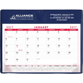 Basic Desk Pad Calendar - Doodle Pad Printed with Your Logo