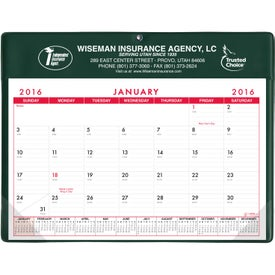 Basic Desk Pad Calendar - Doodle Pad Branded with Your Logo