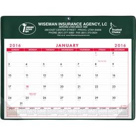 Basic Desk Pad Calendar - Doodle Pad Branded with Your Logo