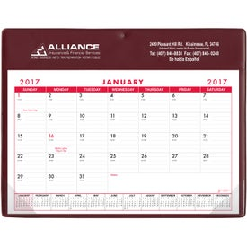 Advertising Basic Desk Pad Calendar - Doodle Pad