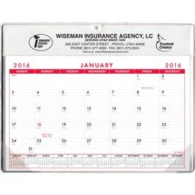 Basic Desk Pad Calendar - Doodle Pad for your School