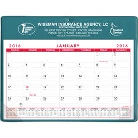 Personalized Basic Desk Pad Calendar - Doodle Pad