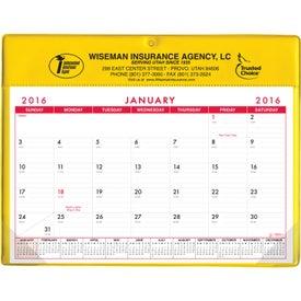 Basic Desk Pad Calendar - Doodle Pad for Promotion