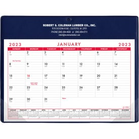 Basic Desk Pad Calendar - Doodle Pad (Stock Colors)