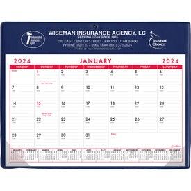 Basic Desk Pad Calendar - Doodle Pad Giveaways