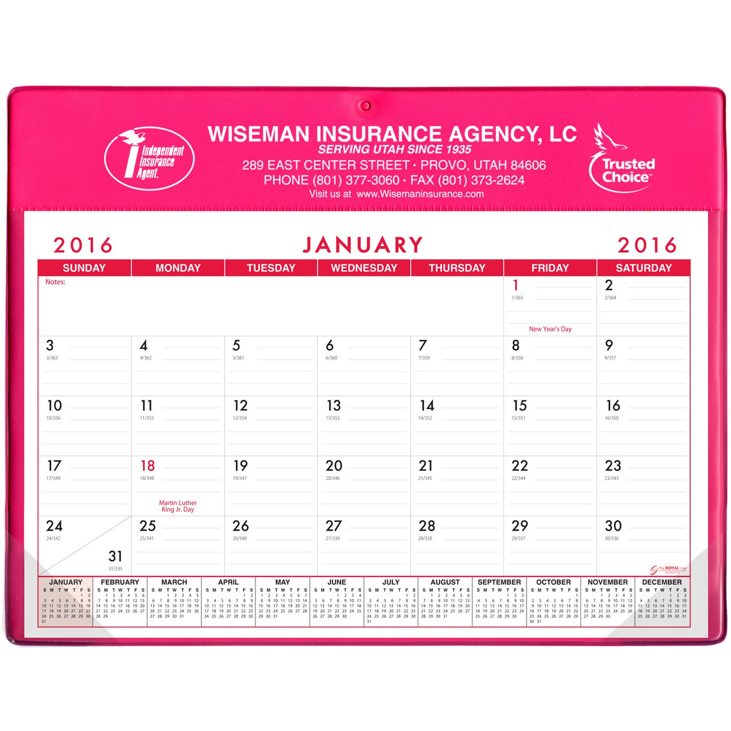 Basic Desk Pad Calendar Doodle Pad Non Stock Custom