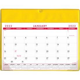 Basic Desk Pad Calendar - Doodle Pad (Non Stock Colors)