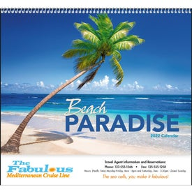 Beach Paradise Calendar (2021)