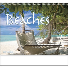 Printed Exotic Beaches Appointment Calendar