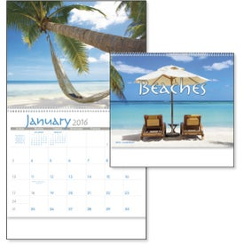 Exotic Beaches Appointment Calendar for Marketing