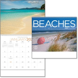 Exotic Beaches Appointment Calendar (2020)