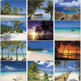 Customized Exotic Beaches Appointment Calendar