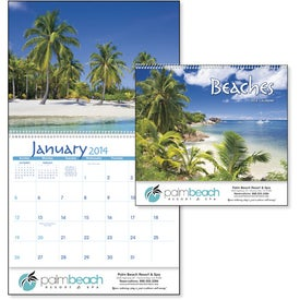Exotic Beaches Appointment Calendar for Your Company