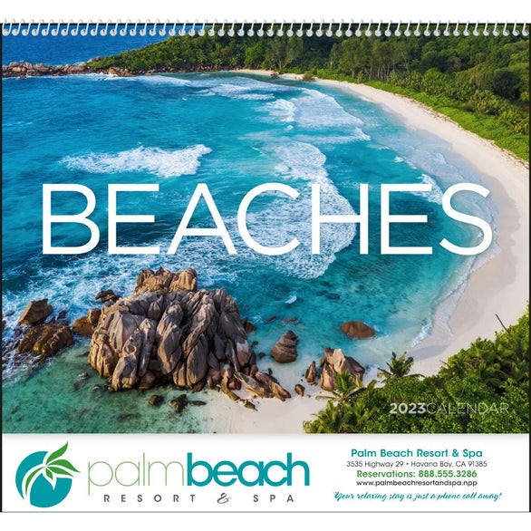 Exotic Beaches Appointment Calendar
