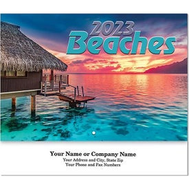 Beaches Stapled Wall Calendars (2022)
