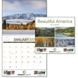 Imprinted Beautiful America Appointment Calendar