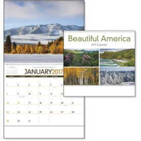 Beautiful America Appointment Calendar for Marketing
