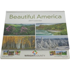 Beautiful America Appointment Calendar for Your Company