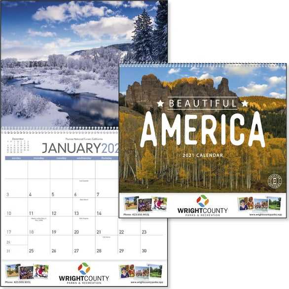 See Item Beautiful America Appointment Calendar