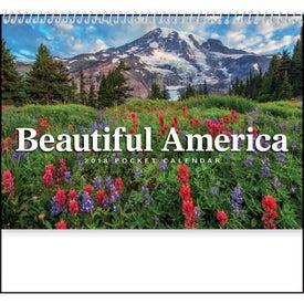 Beautiful America Pocket Calendar for Your Church