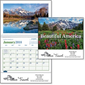 Beautiful America Pocket Calendar for Your Organization
