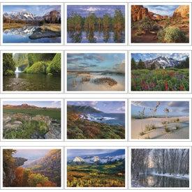 Imprinted Beautiful America Pocket Calendar